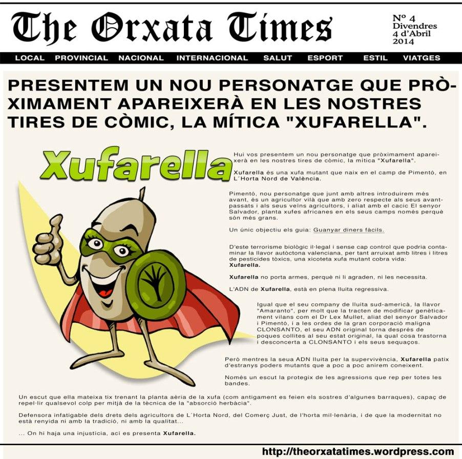 Ha nascut Xufarella